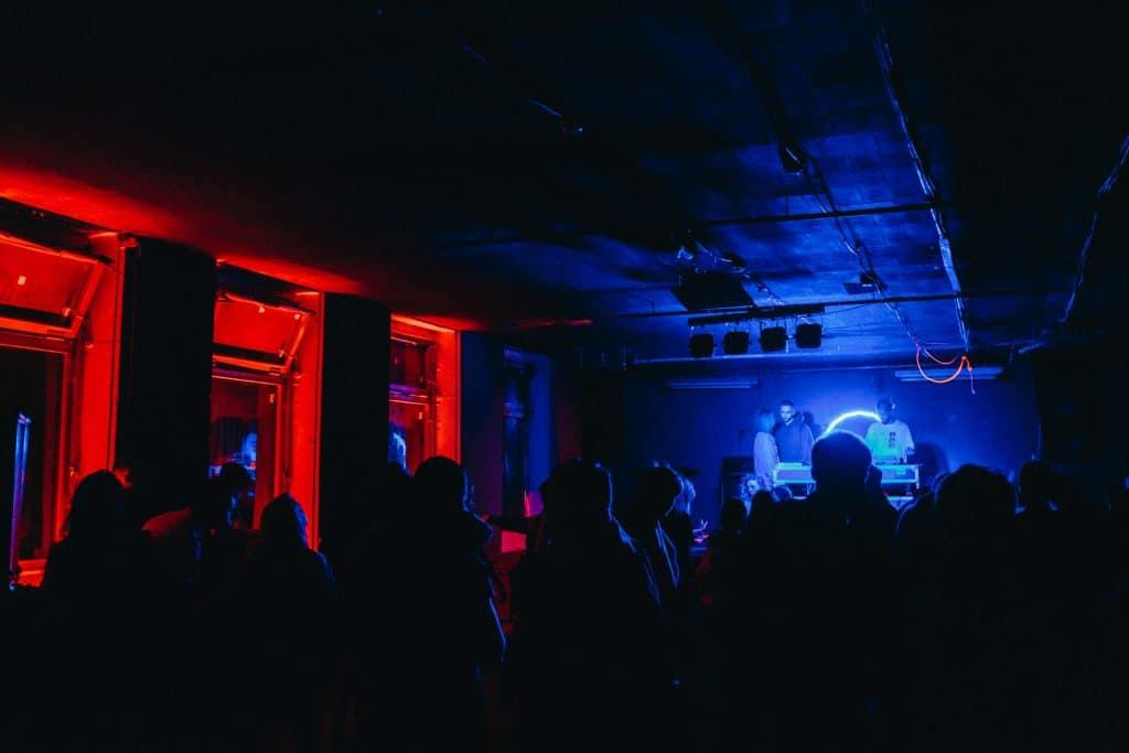 techno concert
