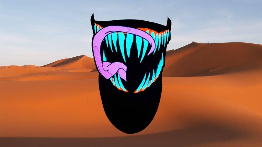 SATUMIKO's Sound Reactive LED Rave Mask