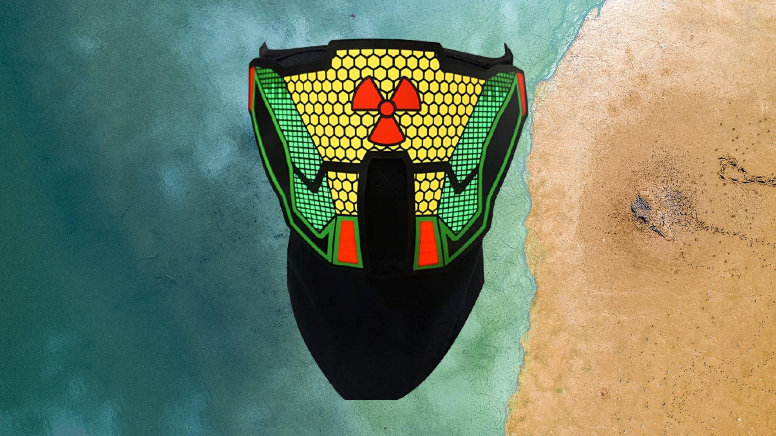 Rave Glow's LED Music Mask