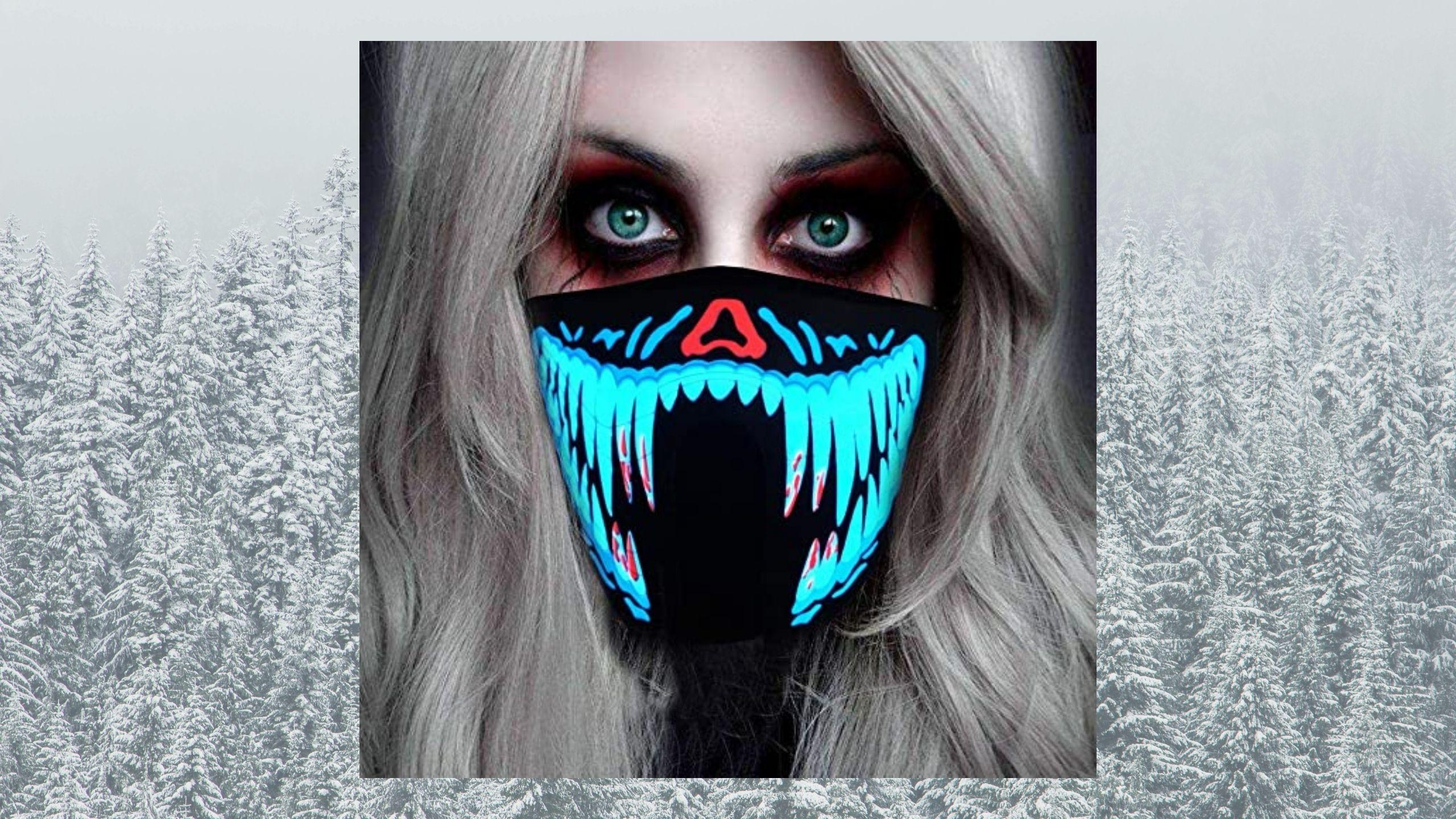 ShineWorld's Neon LED rave mask