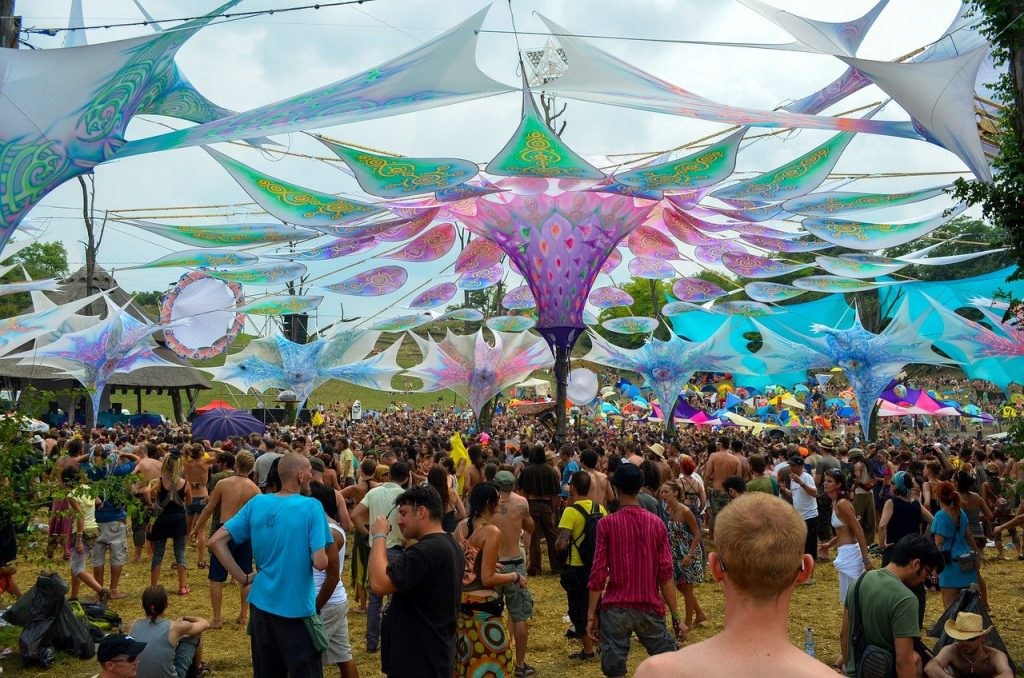 Traveling for EDM like going to the Ozora festival is a great way to see the world.