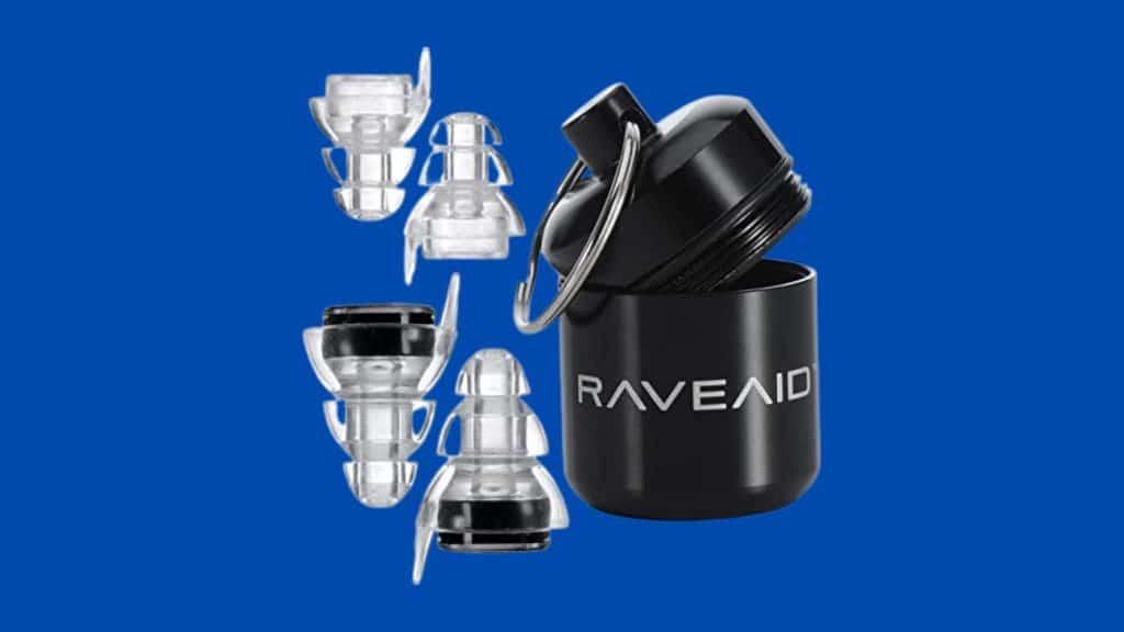 RaveAid High Fidelity Earplugs