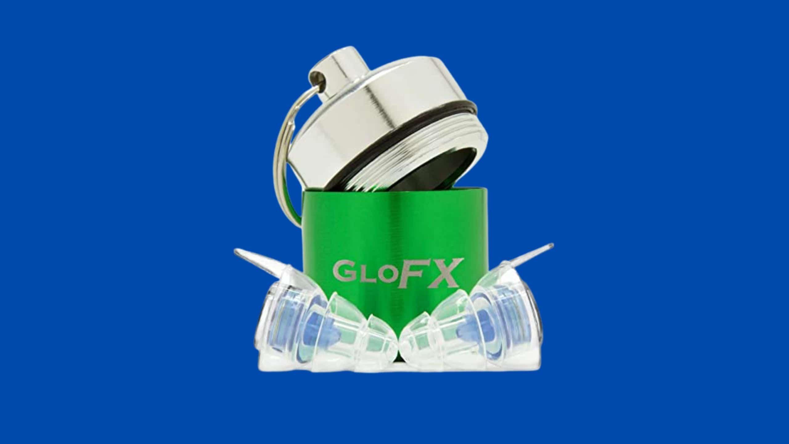 GloFX Earplugs – comfortable hearing protection