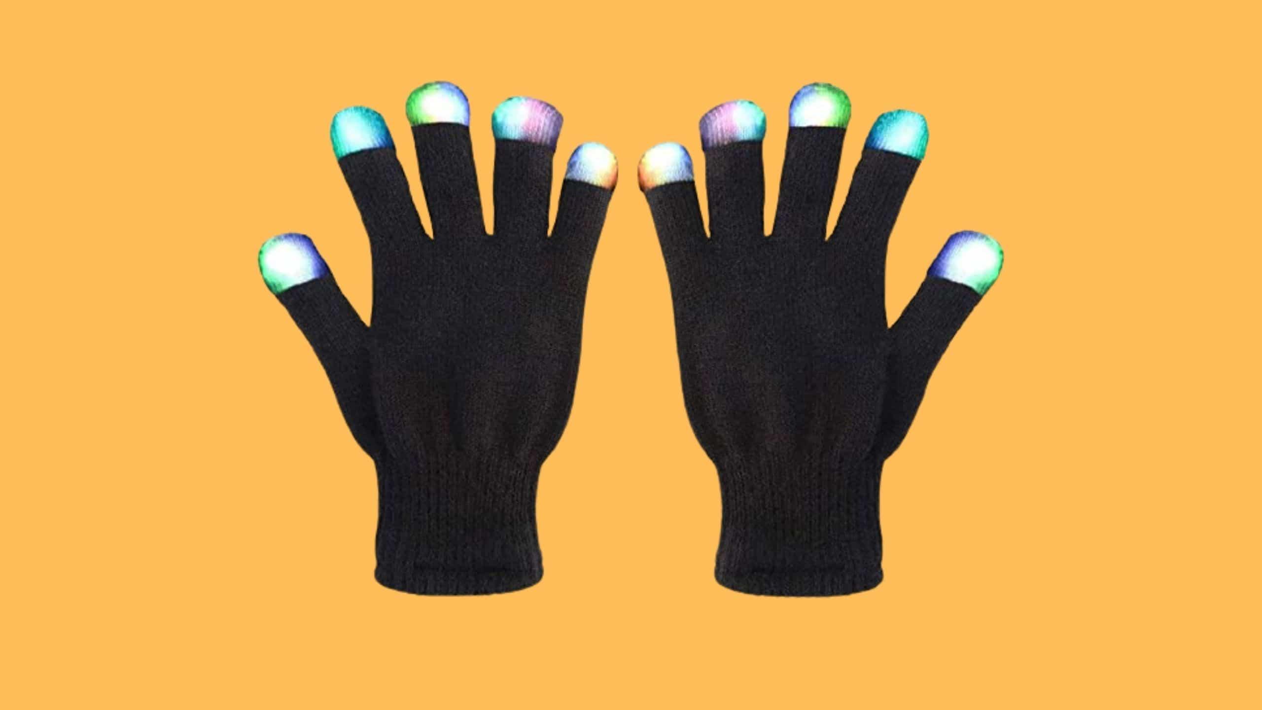 MUCH LED Gloves for Festivals and Raves