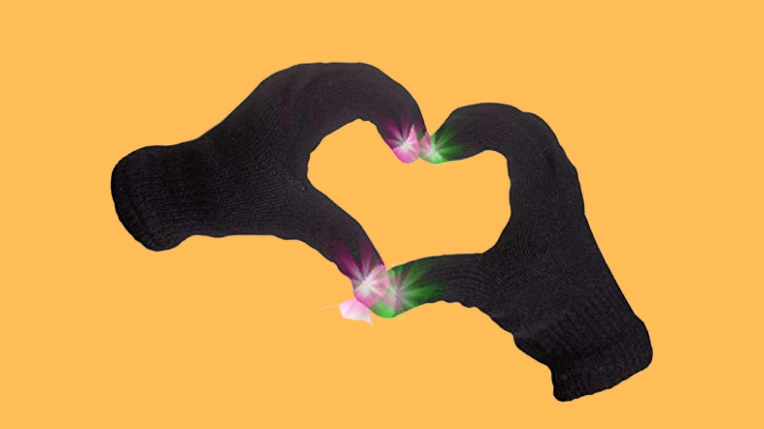 Fun Central LED Gloves for Rave