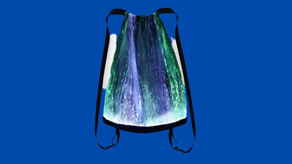 Glowing drawstring bag for festivals by Gift2yo