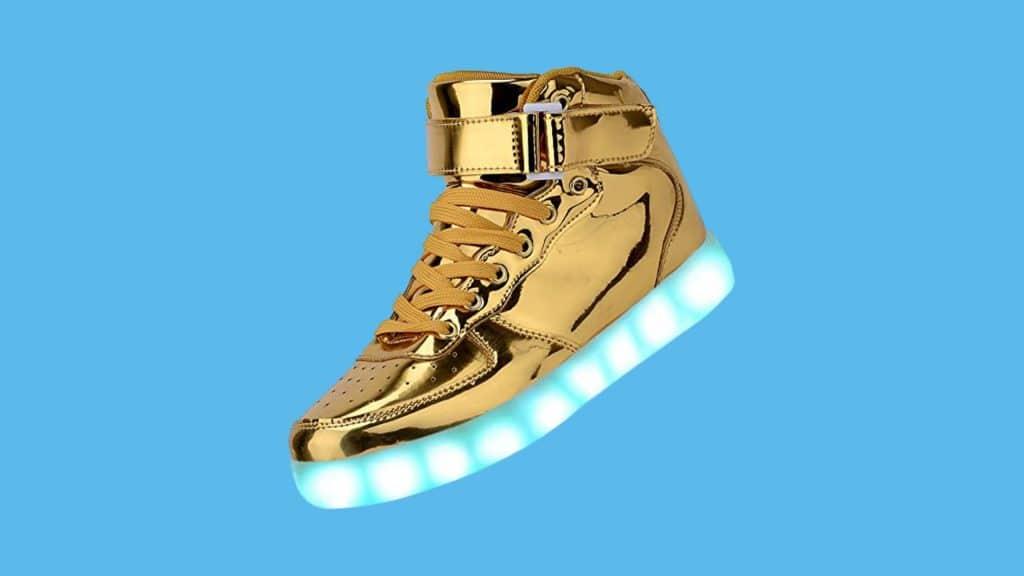 Odema Unisex Light-up Sneaker shoes for raves