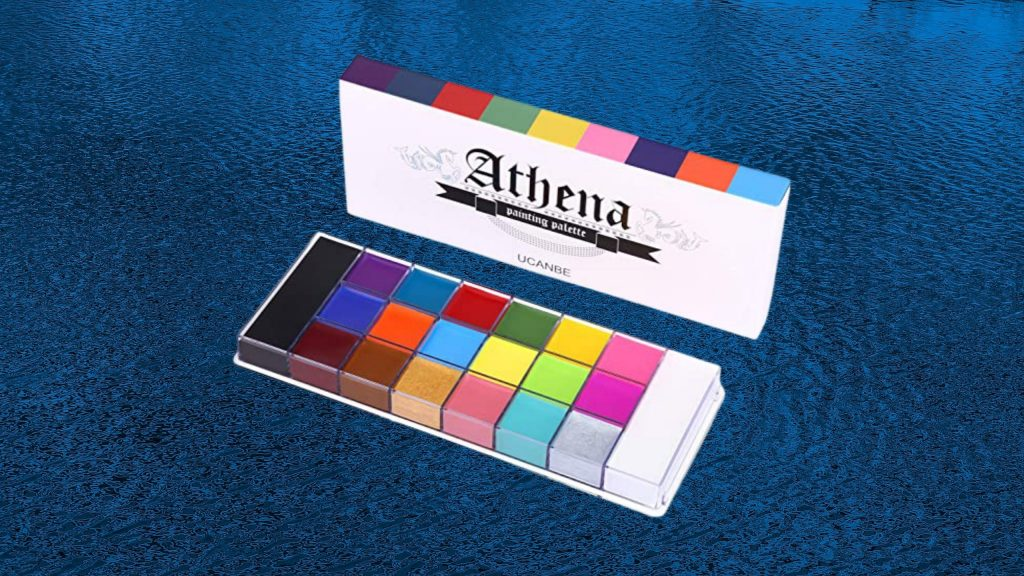 Athena Oil Face and Body paint for Raves