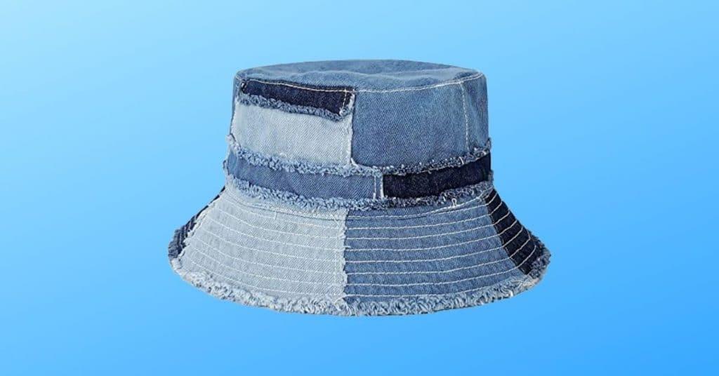 GUANGU's Denim Bucket Hat for Music Festivals