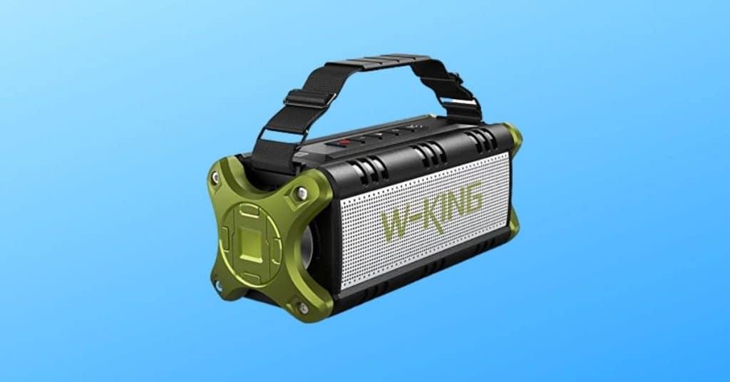 W-KING Super Loud High Bass Bluetooth Speaker